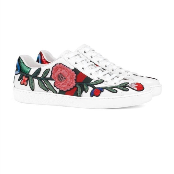 a147438c1 Gucci Shoes | Ace Embroidered Sneakers | Poshmark